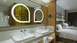Separate  Supersized Washbasin