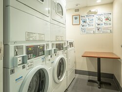 Convenient On-site Laundry Facilities for extended stay guests