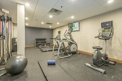 Newly Renovated fitness center perfect for yoga and stretching