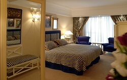 Elegantly-appointed Crowne Suite fitted with an equipped kitchen
