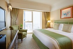 The magnificent Royal Suite can accommodate up to seven guests