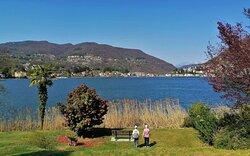 Lago di Lugano, 2 Aprile 2021