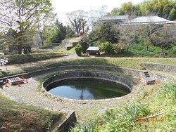二つある池のひとつ