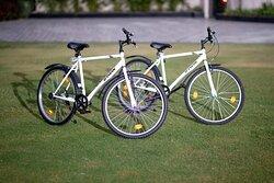 Cycling at Taj Krishna