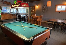 bar area newly renovated