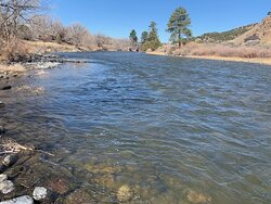 Another view from Bighorn Park and Campground along Arkansas River
