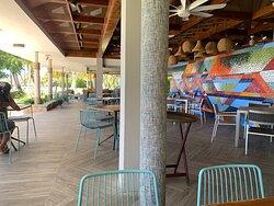 View from Las Palmas Cafe