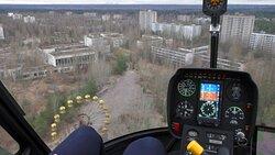 Chernobyl Helicopter Tour - Prypyat Ferris Wheel