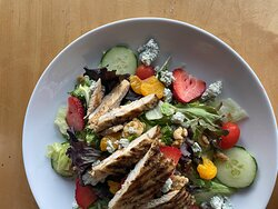 Our summer salad is colorful just like the season it is named after!