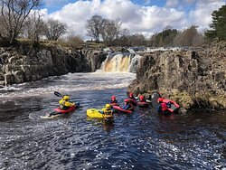 Kayaking and Ghyll scrambling in the Norteast South Shields