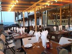 Al fresco dining area opening 12th April 2021