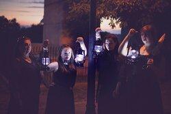 Let us lead you by lantern light...  Photo Credit: Julie Furtado Photography