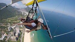 Hang Glider tandem flight - Rio de Janeiro - Brazil