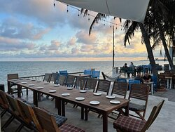 DejaVu Restaurant at Pit Stop Food Court Mui Ne // Seaside 122 Nguyen Dinh Chieu. Best place to eat drink relax here.