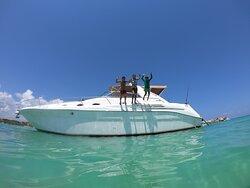 Boat Rental Playa Del Carmen - 45' Searay 1995