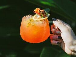 The Refresher - Roselle Spices, Watermelon, Lemon, Passion Fruit, Honey, Soda Water  So Refreshing!
