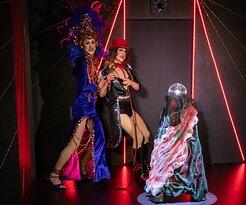 Travestieshow Berlin - Theater im Keller - Circus der Travestie: Melody Gaymoll und Miss Günstig