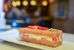 Enjoy the perfect summer sweet  Konafa treat at Tea Garden