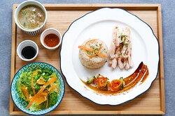 カオ・マン・ガイ(チキンライス) Khao Man Gai Thai Chicken Rice