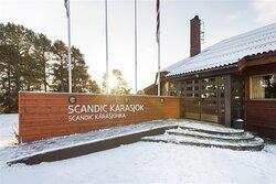 New Scandic Karasjok Karasjok entrance