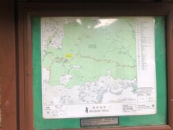 Wilson Trail Section #9 - Pat Sin Leng Country Park - map
