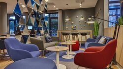 Sit down and relax in our Lounge area