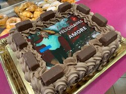 tarta personalizada chocolate