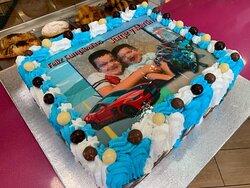 tarta personalizada cumpleaños