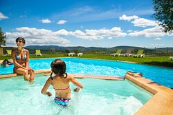Your children will enjoy our paddling pool.