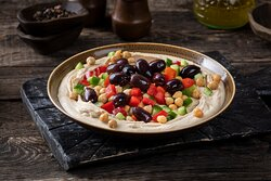 Create your own Hummus Bowl