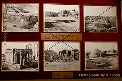 """Eye witness of Excavation in different time periods....   Archaeological Museum Sanchi, Madhya Pradesh, india ....  The Archaeological Museum at Sanchi contains some of the most important objects discovered during excavations at the site.   The archaeological museum was established by Sir John Marshall in 1919 but because of lack of space, it was transferred to the present site in 1966. Most of the exhibits are from Sanchi but some have been brought in from Vidisha, Gulgaon etc"""""""
