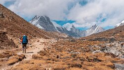 Epic trek to Everest base camp