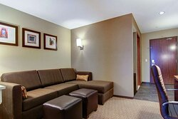King suite with sofa sleeper
