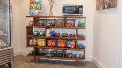 Need a quick snack? Visit our hotel Lobby Market.