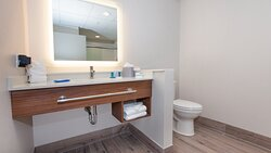 Relax in our modern guest bathrooms