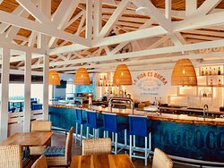 The fresh Mediterranean Bar Interior