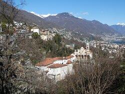 a view of Madonna del Sasso