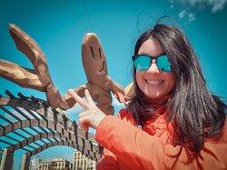 Hello! My name is Macarena Bergada. Art historian & Licensed guide.