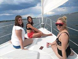Beautiful day at sea!