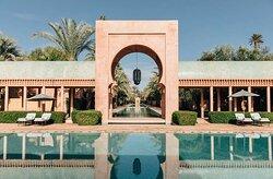 Amanjena Morocco Resort swimming pool Original