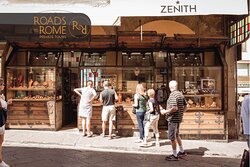 A shop on Ponte Vecchio, Florence