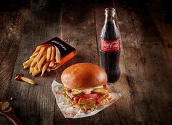 Doner Burger Meal