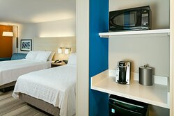 2 Queen Suite with microwave, mini frig and coffee maker