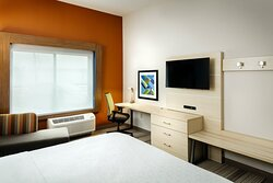 Enjoy the free Wi-Fi and work desk in our King Bed Room