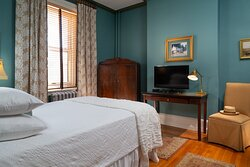 The Furness Room. Named after the famous Victorian era Shakespearean scholar H. H. Furness.