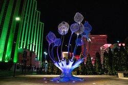 Burning Man art in Reno