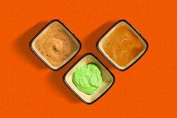 Sauces (Verte, forestière et poivre)
