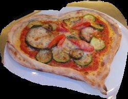 Pizza mit Liebe