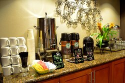 Full five-star amenities with in-house catering, coffee and tea.