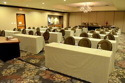 Classroom style is perfect for your next big conference.